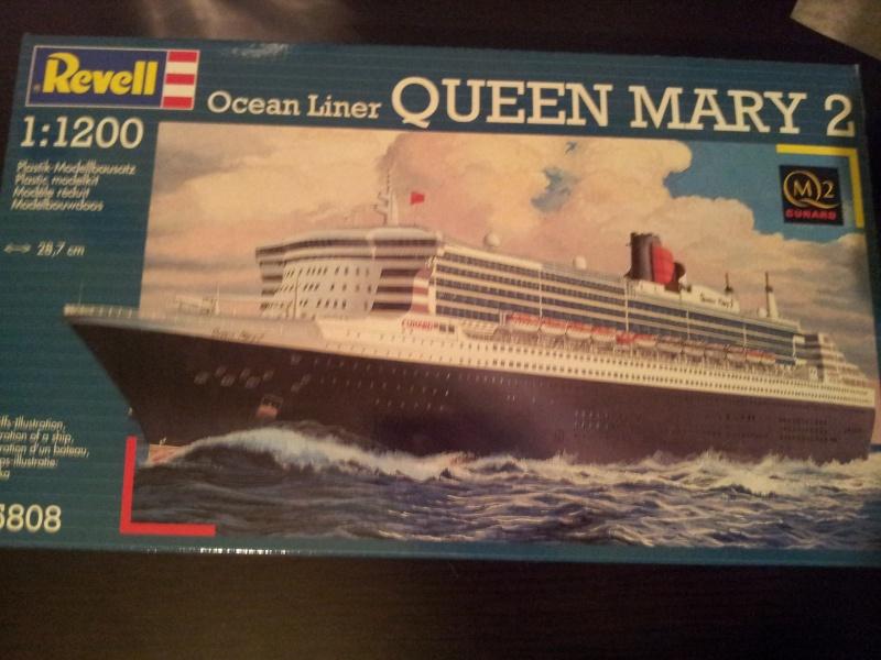 Queen Mary II de Revell au 1/1200 20130210