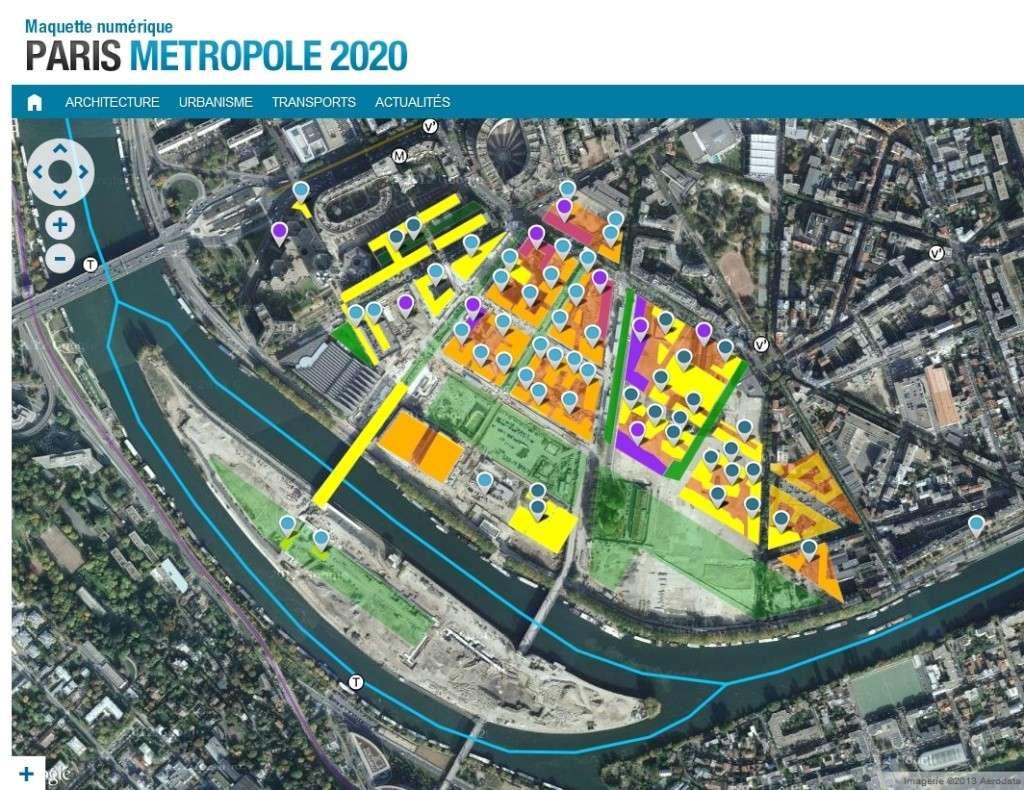 Plan du trapèze / nom des résidences et des rues Clipbo13