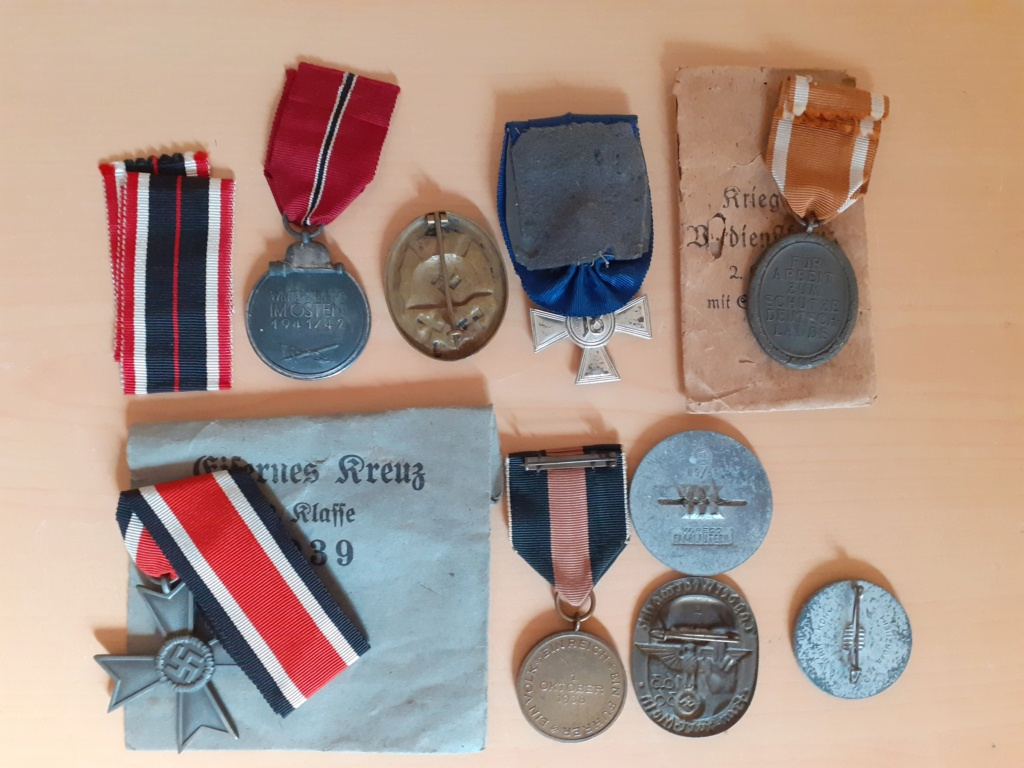 Lot médailles allemandes  20210549