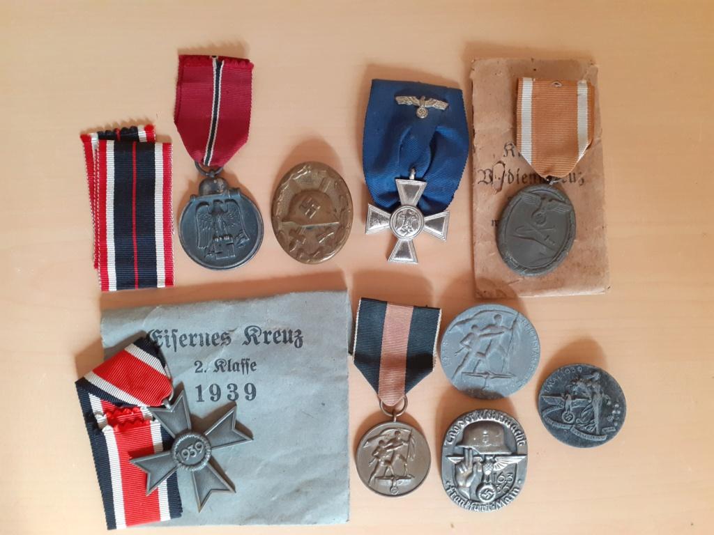 Lot médailles allemandes  20210550