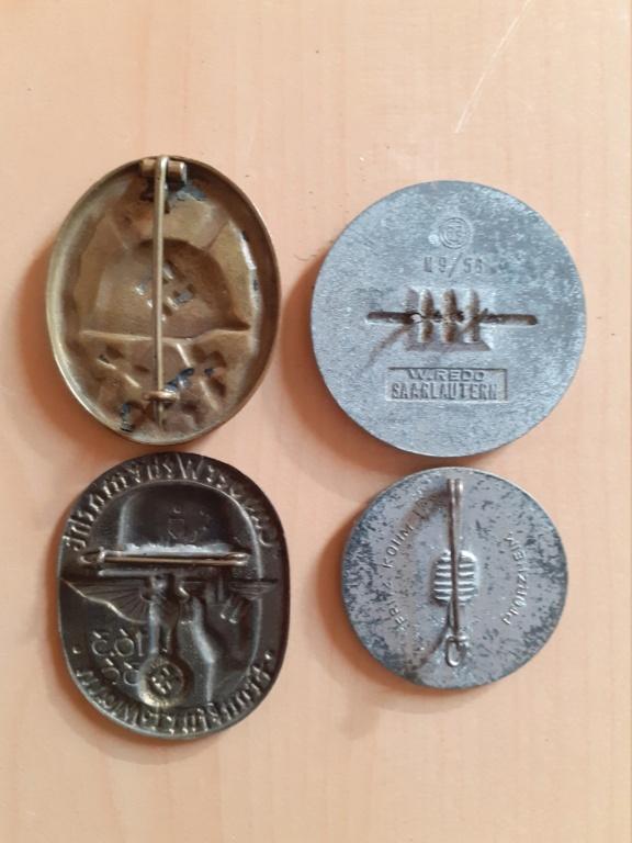 Lot médailles allemandes  20210555