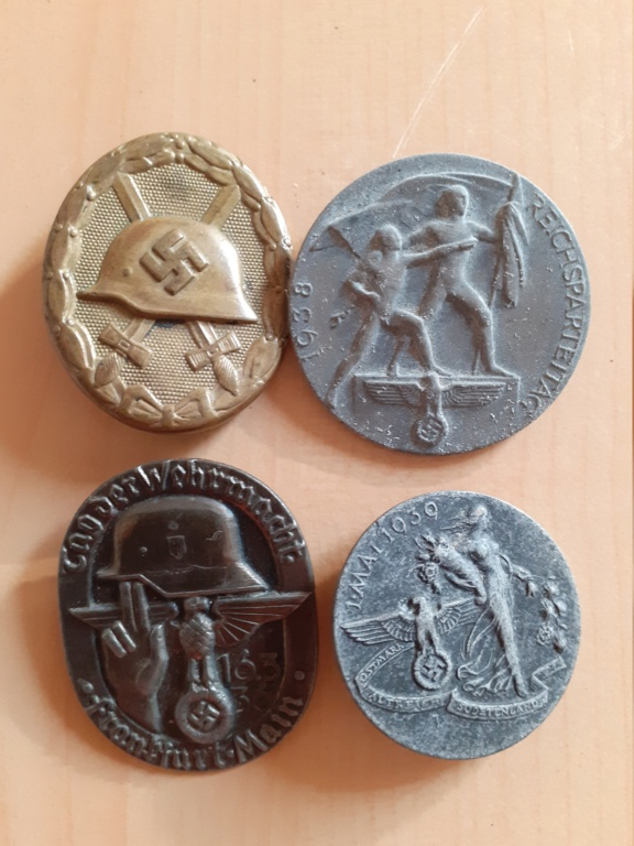 Lot médailles allemandes  20210556