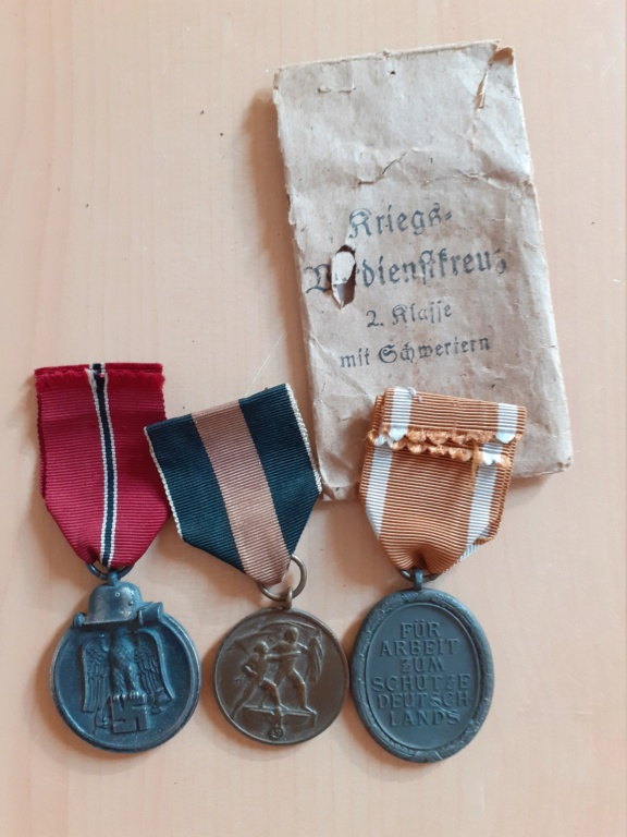 Lot médailles allemandes  20210557