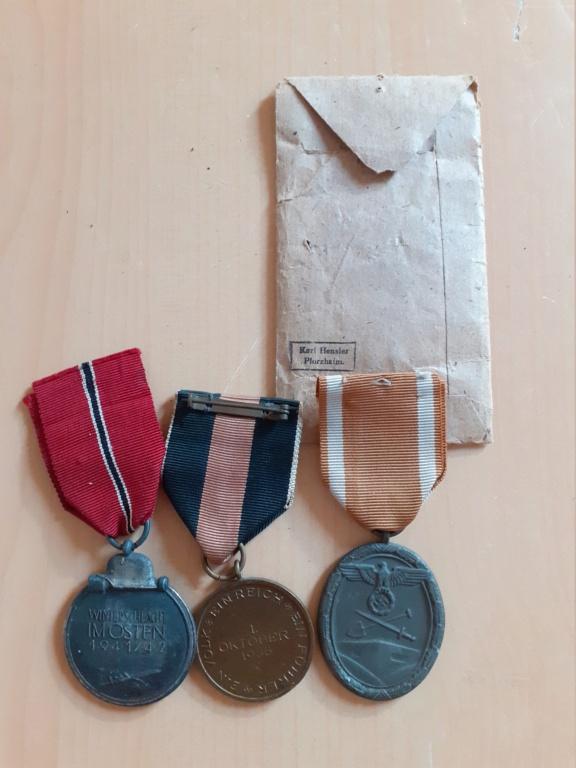 Lot médailles allemandes  20210558