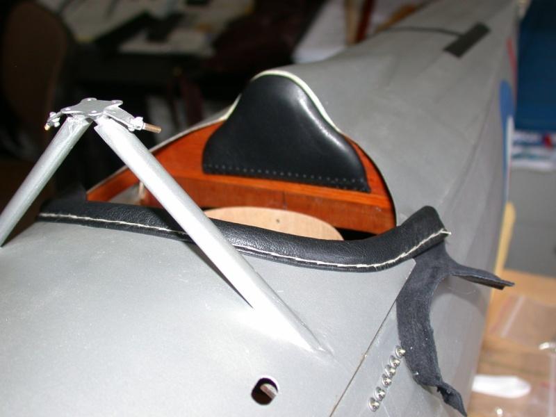 """Maquette """"Nieuport 27"""" façonnage cuir. Dscn7016"""