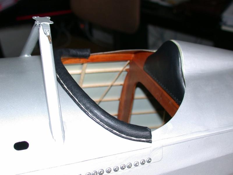 """Maquette """"Nieuport 27"""" façonnage cuir. Dscn7018"""