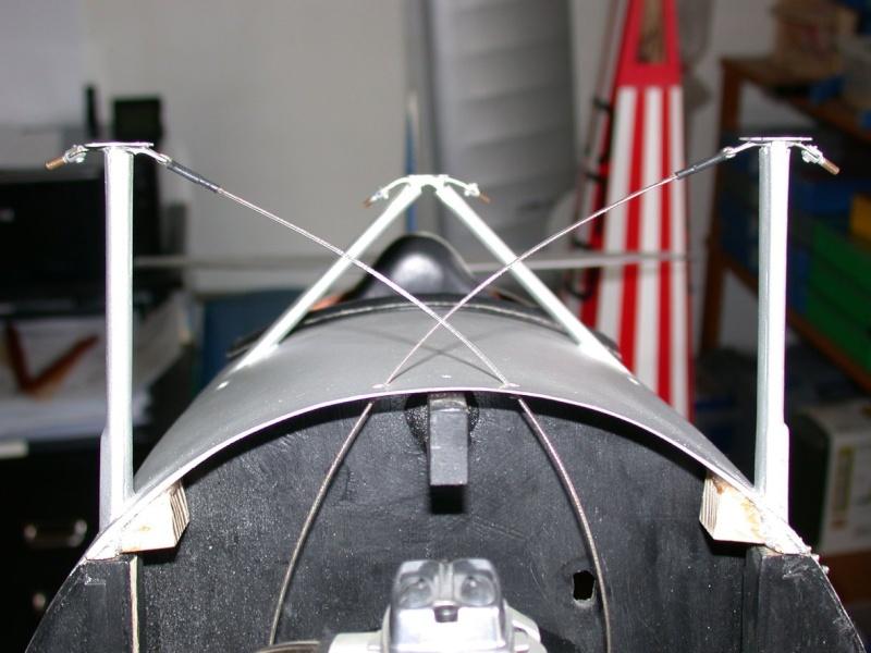 """Maquette """"Nieuport 27"""" façonnage cuir. Dscn7020"""