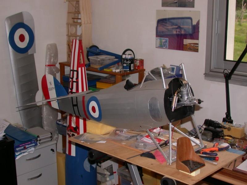 """Maquette """"Nieuport 27"""" façonnage cuir. Dscn7022"""