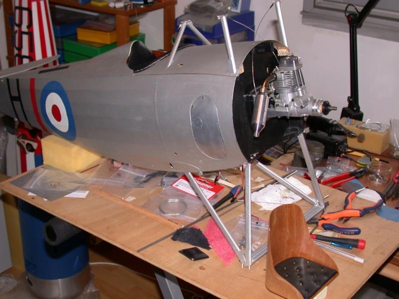"""Maquette """"Nieuport 27"""" façonnage cuir. Dscn7023"""
