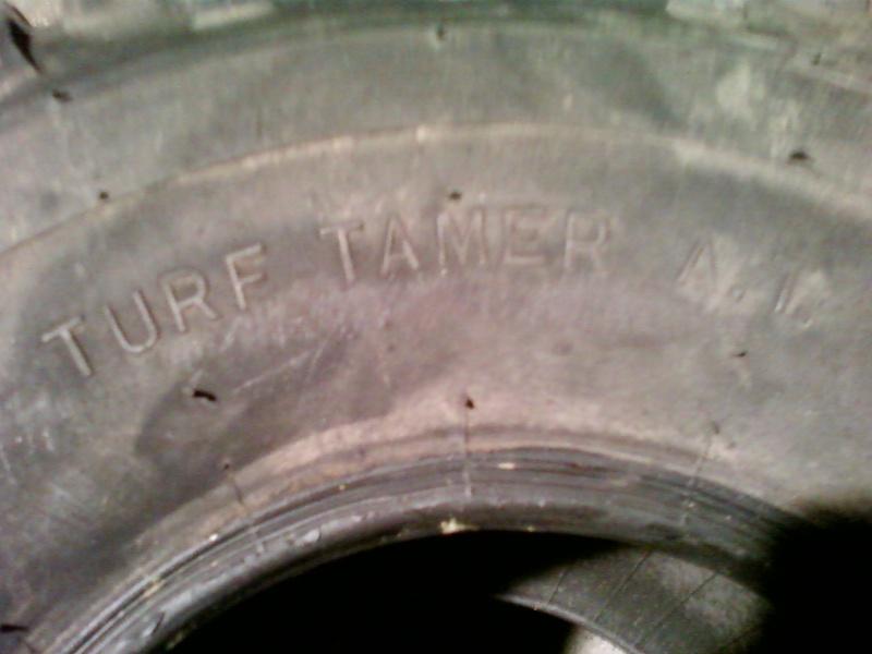 -VENDUS-2 pneus profil gazon DICO TURF TAMER 25x12-9 Photo-49