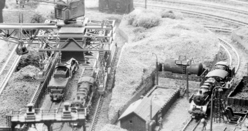 Es begann 1972 (Spur N) Bahnbe11