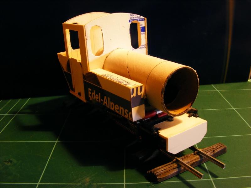 """Lucy und """"der blaue Klaus"""" - 600mm Feldbahn (M=1:35 oder Spur If) Dampfl10"""