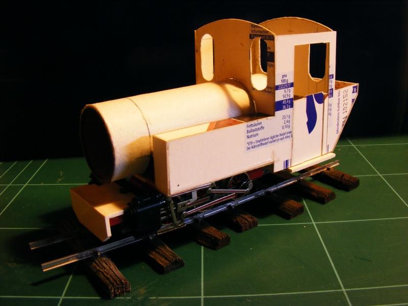 """Lucy und """"der blaue Klaus"""" - 600mm Feldbahn (M=1:35 oder Spur If) Dampfl12"""