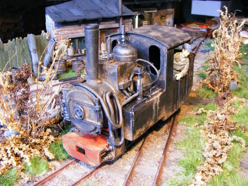 """Lucy und """"der blaue Klaus"""" - 600mm Feldbahn (M=1:35 oder Spur If) Dampfl16"""