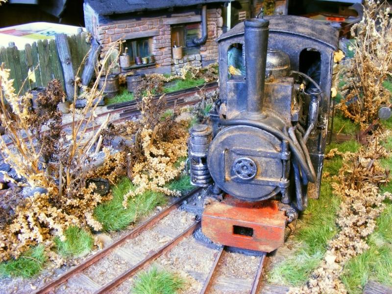 """Lucy und """"der blaue Klaus"""" - 600mm Feldbahn (M=1:35 oder Spur If) Dampfl18"""