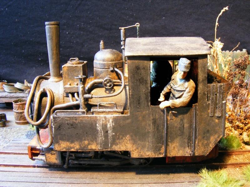 """Lucy und """"der blaue Klaus"""" - 600mm Feldbahn (M=1:35 oder Spur If) Dampfl19"""