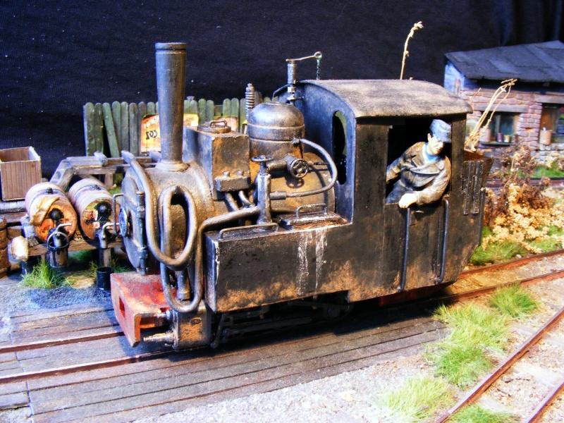 """Lucy und """"der blaue Klaus"""" - 600mm Feldbahn (M=1:35 oder Spur If) Dampfl20"""