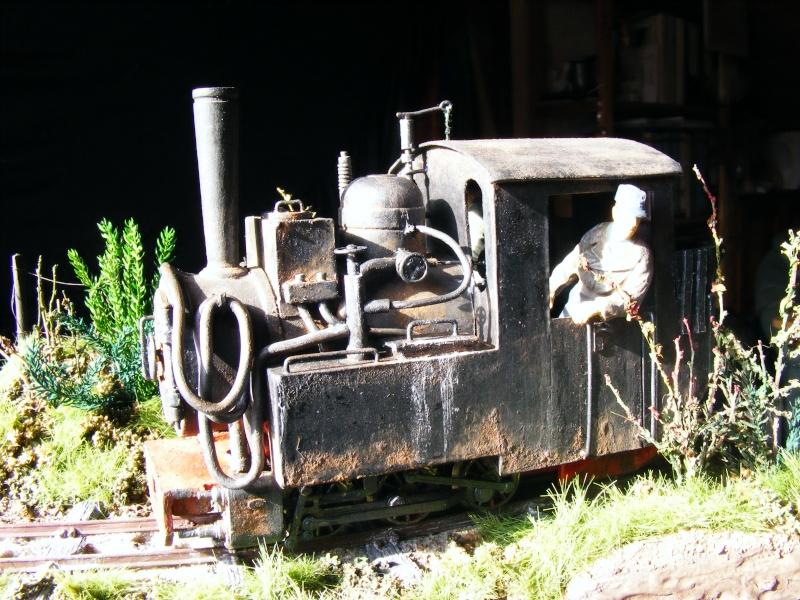 """Lucy und """"der blaue Klaus"""" - 600mm Feldbahn (M=1:35 oder Spur If) Dampfl24"""