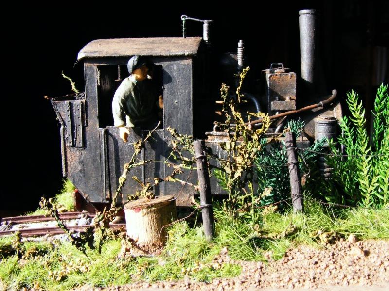 """Lucy und """"der blaue Klaus"""" - 600mm Feldbahn (M=1:35 oder Spur If) Dampfl26"""