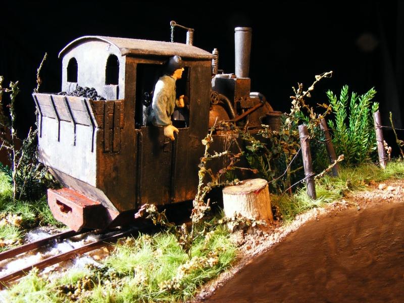 """Lucy und """"der blaue Klaus"""" - 600mm Feldbahn (M=1:35 oder Spur If) Dampfl29"""