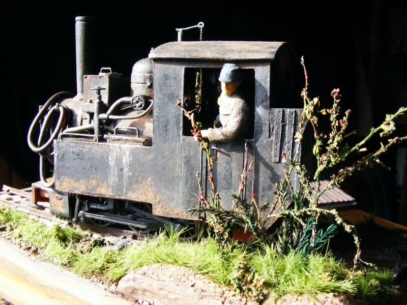 """Lucy und """"der blaue Klaus"""" - 600mm Feldbahn (M=1:35 oder Spur If) Dampfl30"""