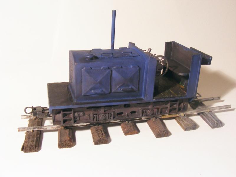 """Lucy und """"der blaue Klaus"""" - 600mm Feldbahn (M=1:35 oder Spur If) Diesel10"""