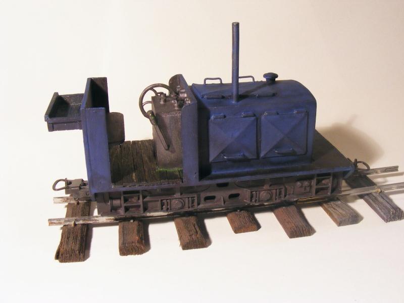 """Lucy und """"der blaue Klaus"""" - 600mm Feldbahn (M=1:35 oder Spur If) Diesel11"""