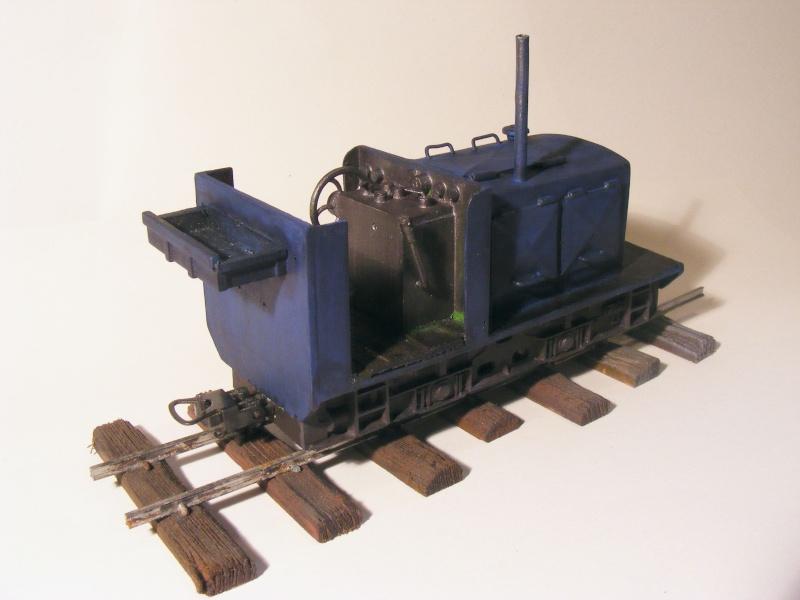 """Lucy und """"der blaue Klaus"""" - 600mm Feldbahn (M=1:35 oder Spur If) Diesel12"""