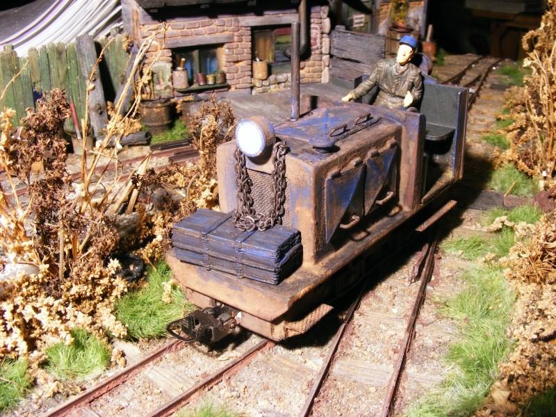 """Lucy und """"der blaue Klaus"""" - 600mm Feldbahn (M=1:35 oder Spur If) Diesel14"""
