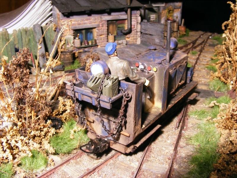 """Lucy und """"der blaue Klaus"""" - 600mm Feldbahn (M=1:35 oder Spur If) Diesel15"""