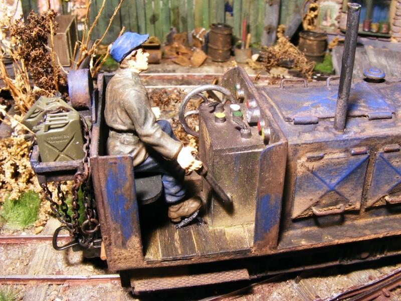 """Lucy und """"der blaue Klaus"""" - 600mm Feldbahn (M=1:35 oder Spur If) Diesel16"""