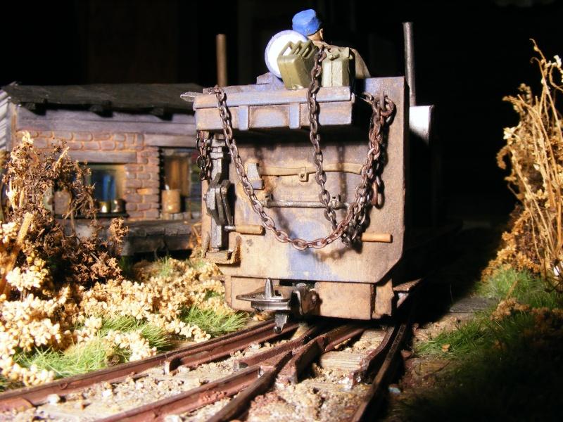 """Lucy und """"der blaue Klaus"""" - 600mm Feldbahn (M=1:35 oder Spur If) Diesel18"""