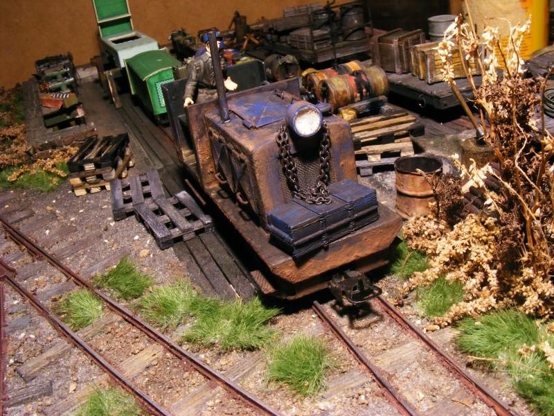 """Lucy und """"der blaue Klaus"""" - 600mm Feldbahn (M=1:35 oder Spur If) Diesel20"""