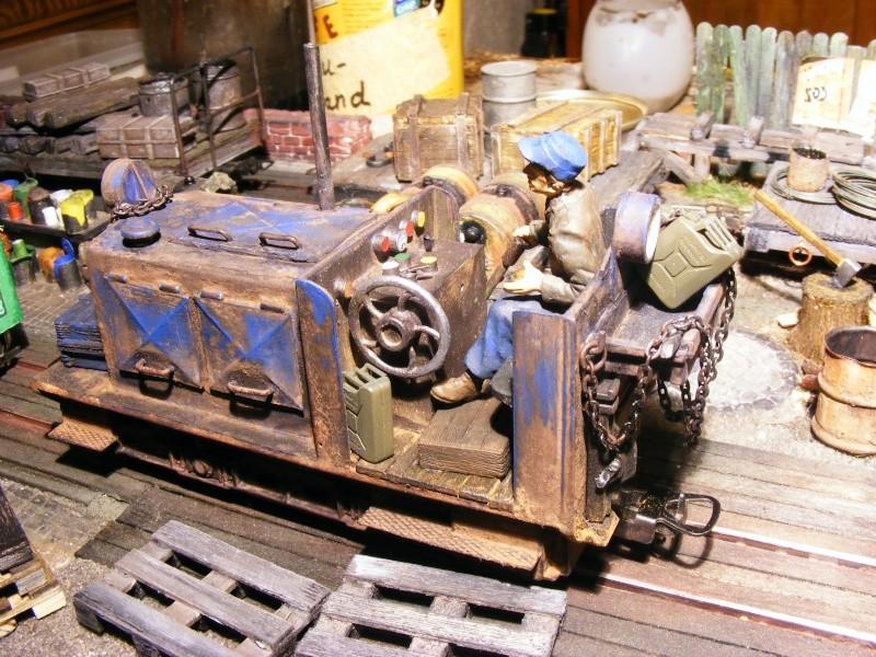 """Lucy und """"der blaue Klaus"""" - 600mm Feldbahn (M=1:35 oder Spur If) Diesel21"""