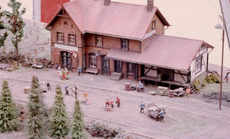 Hanauer Kleinbahn (Hanau - Langenselbold bzw. Hüttengesäß) in H0 Hanaue10