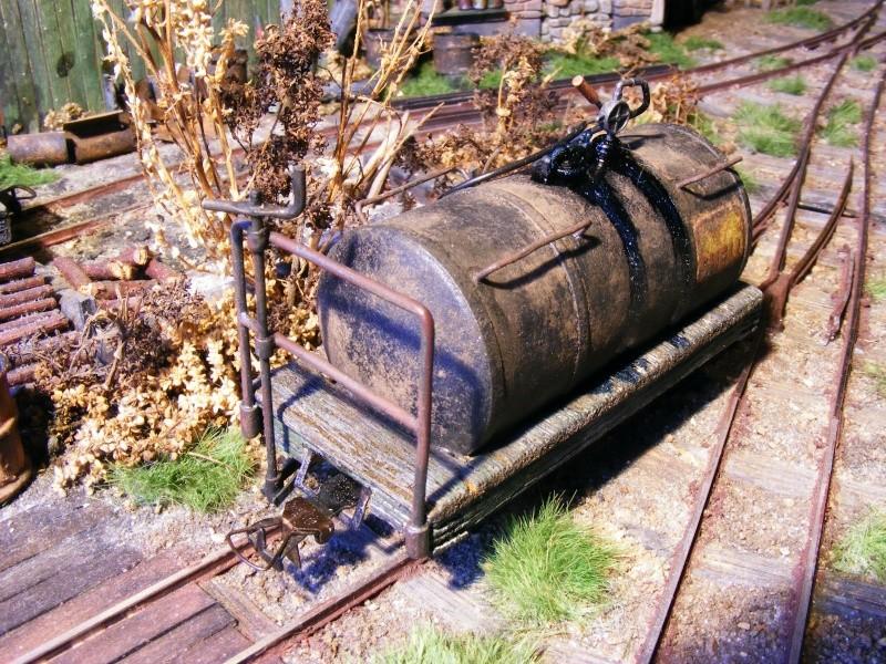 Wagen der 600mm-Feldbahn (Masstab 1:35) Kessel10
