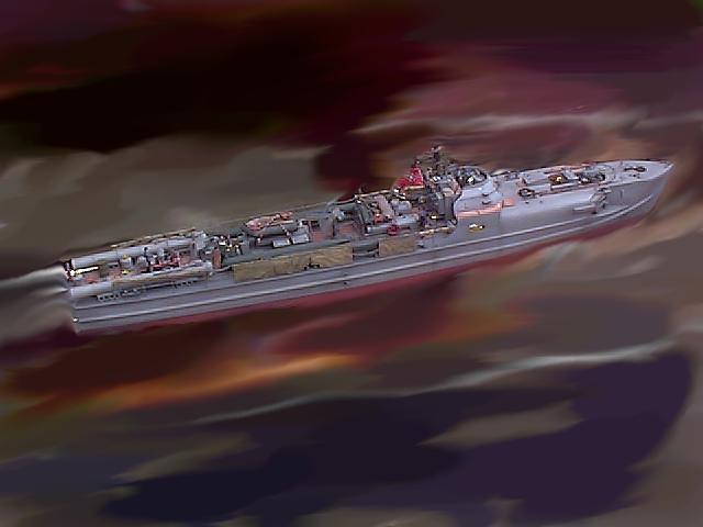 Schnellboot der Klasse 700 (M=1:35) S712_119