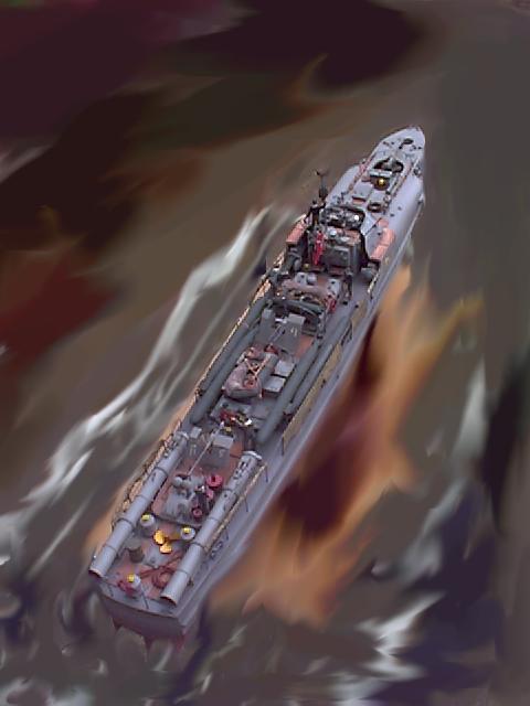 Schnellboot der Klasse 700 (M=1:35) S712_120