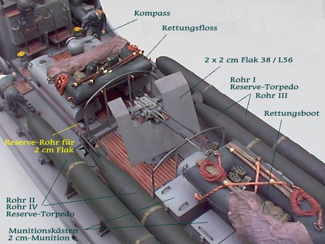 Schnellboot der Klasse 700 (M=1:35) S712_m10