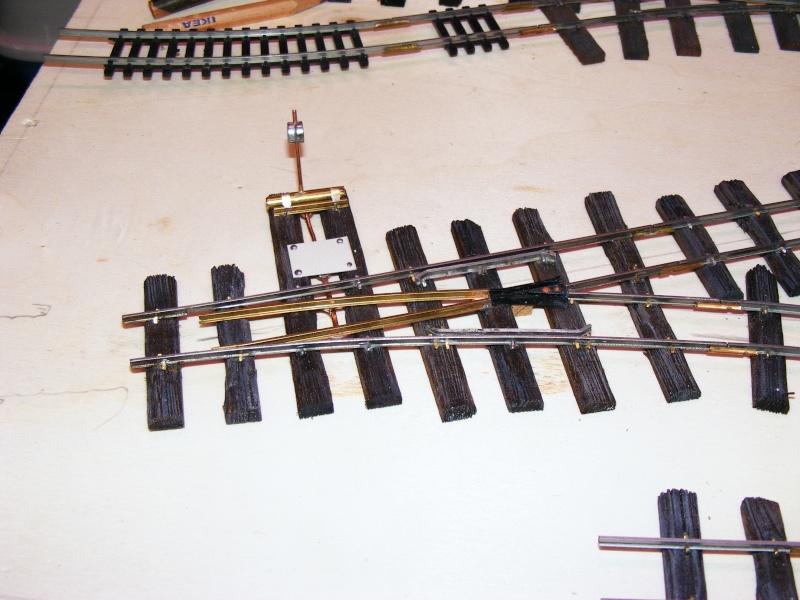600mm-Feldbahn im Maßstab 1:35 Weiche10
