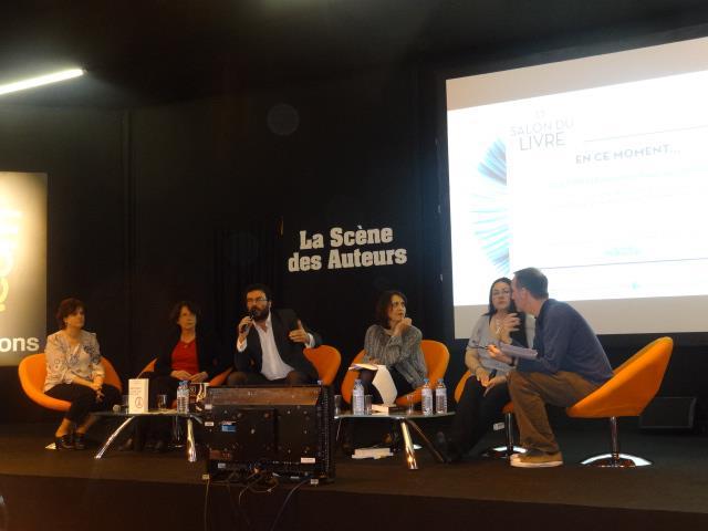SALON DU LIVRE 2013 - Conférence : La littérature dans tous ses ébats Confa10