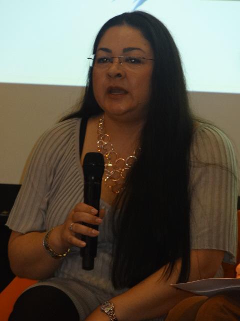 SALON DU LIVRE 2013 - Conférence : La littérature dans tous ses ébats Sylvia10