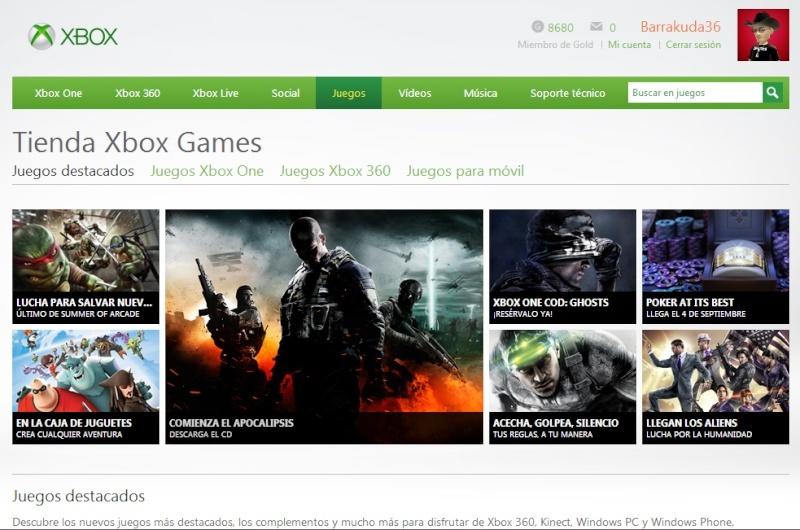 TIENDA XBOX GAMES  Txstor10