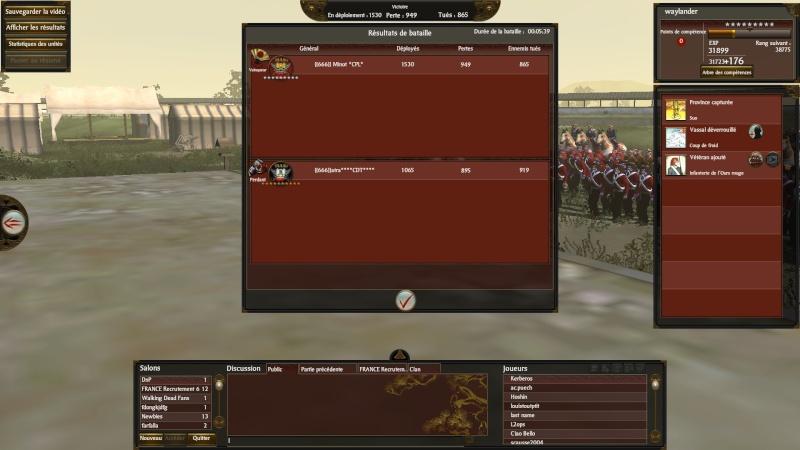 Screen du tournoi shogun 2013-017