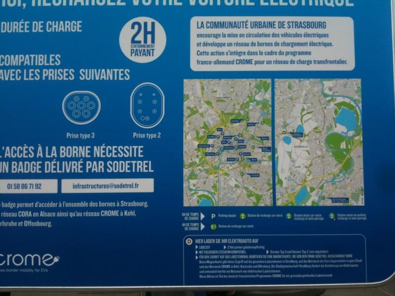 Borne de recharge géré par Sodetrel en Alsace Carte10