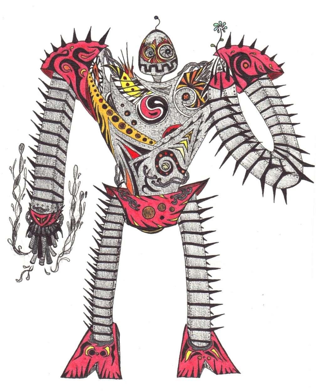 Dessins Fantastiques Robot_10