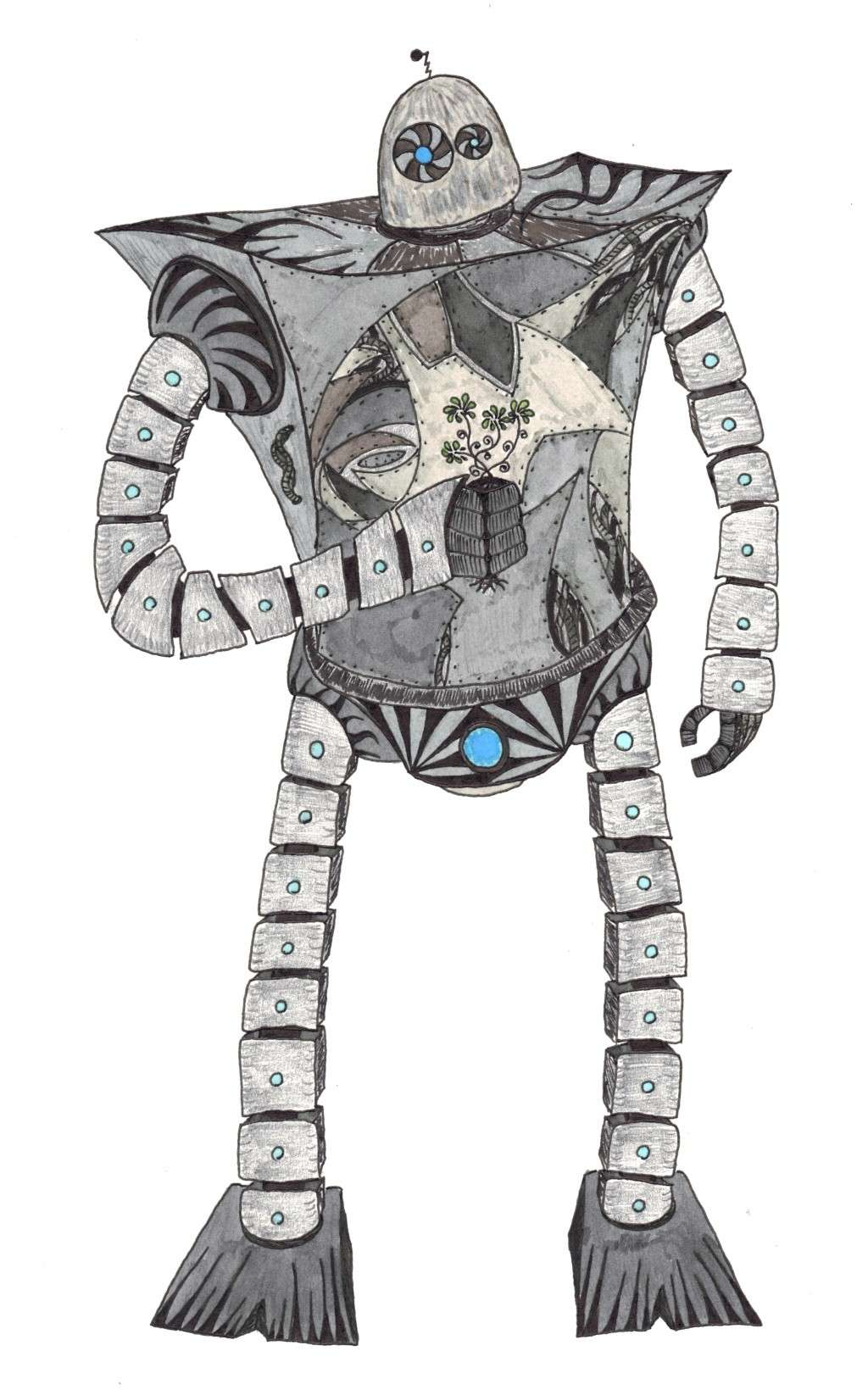 Dessins Fantastiques Robot_11