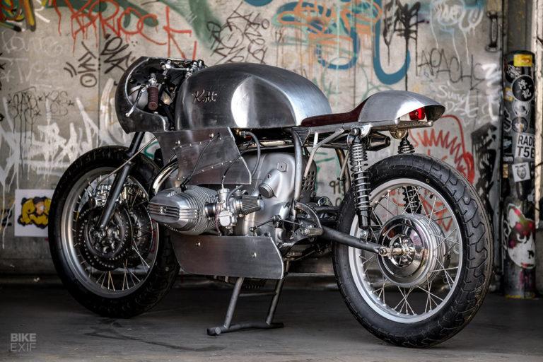 C'est ici qu'on met les bien molles....BMW Café Racer - Page 13 Custom14
