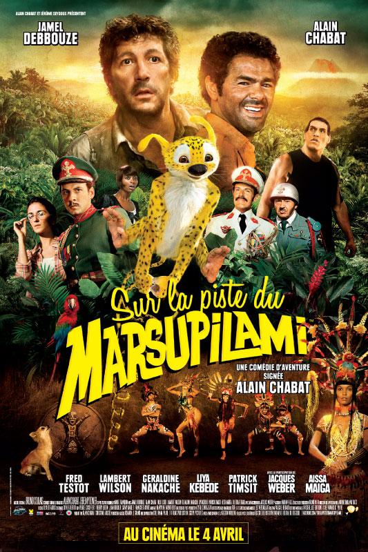 Le film Sur la piste du Marsupilami  Marsup10
