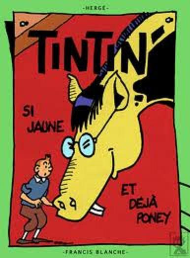 Détournements de BD Tintin Tintin49